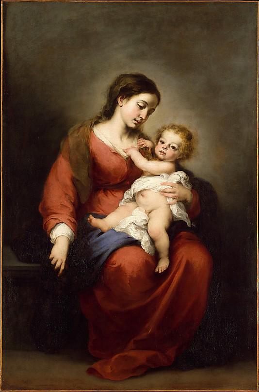 Virgen con el Niño (1670-1672)