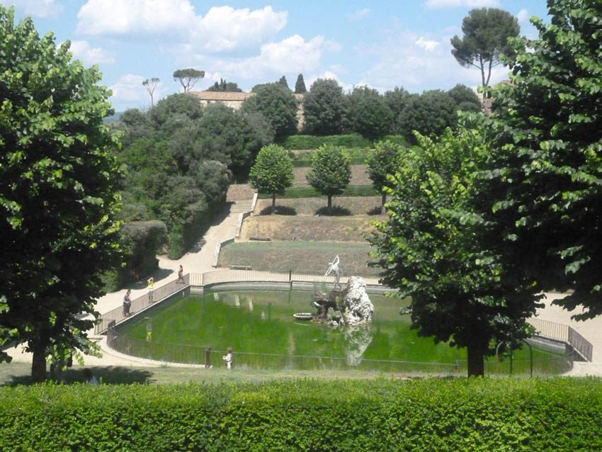 Giardino Di Boboli Firenze The Ark Of Grace