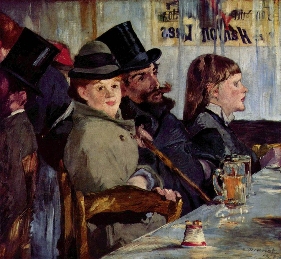Au café (1878)