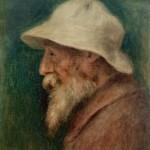 Autoportrait au chapeau blanc (1910)