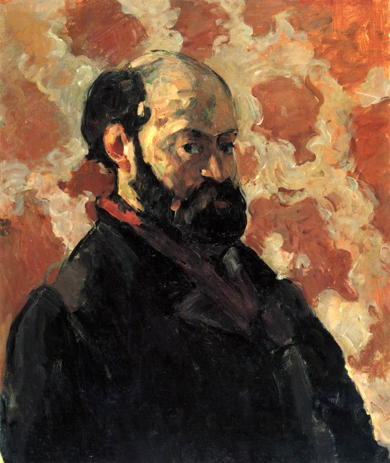Autoportrait au fond rose (c. 1875)