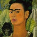 Autorretrato con mono (1938)