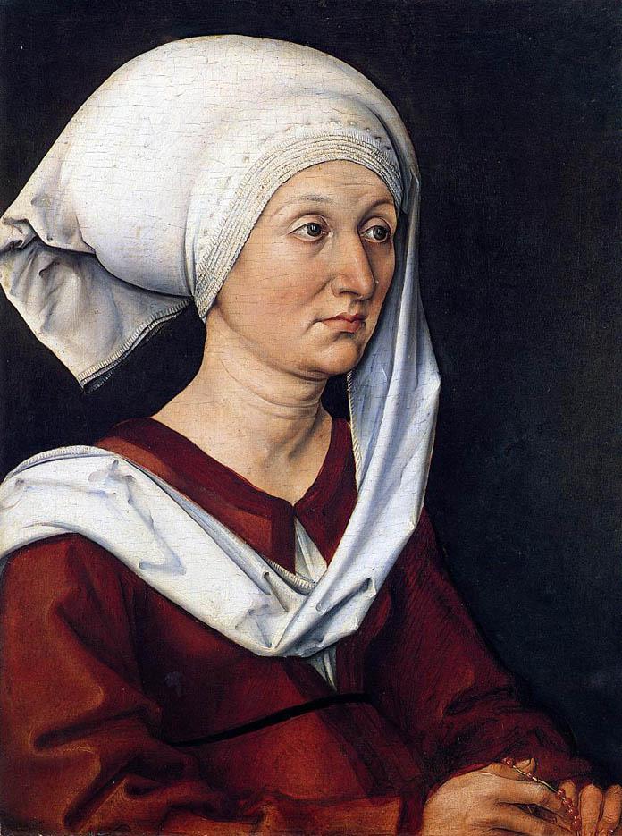 Barbara Dürer (c. 1490)