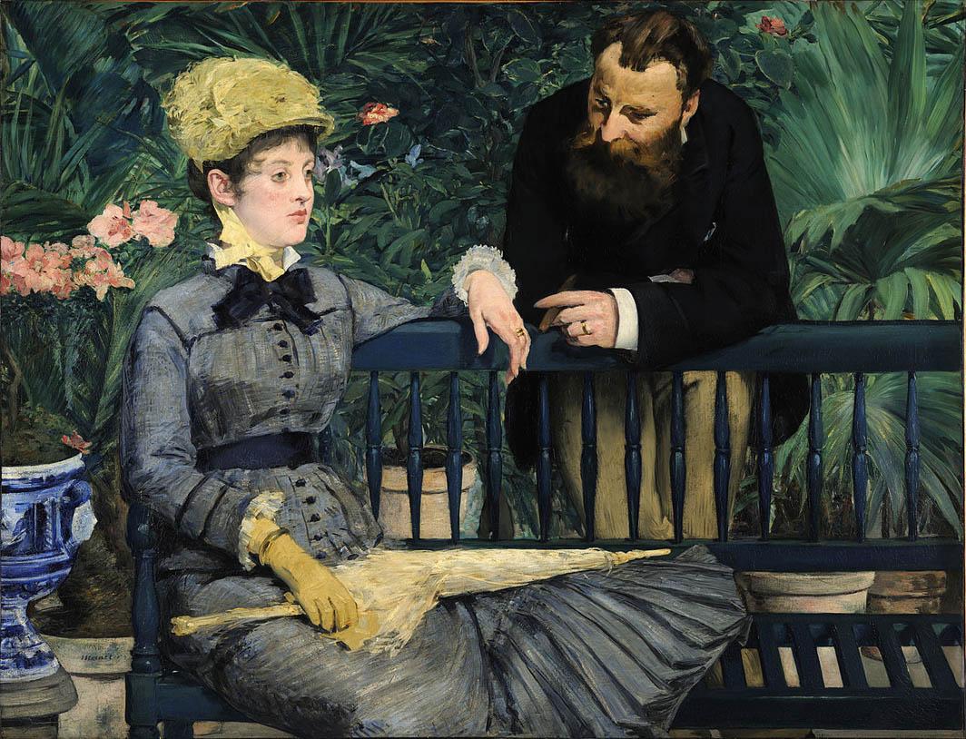 Dans la serre (1879)