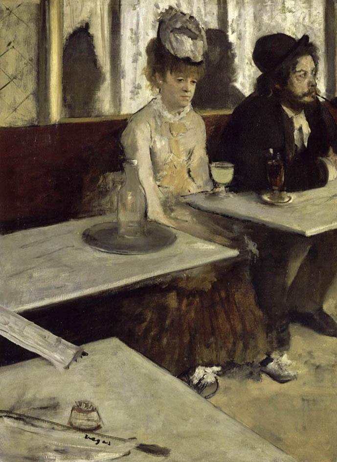 Dans un café, dit aussi L'Absinthe (1875-1876)
