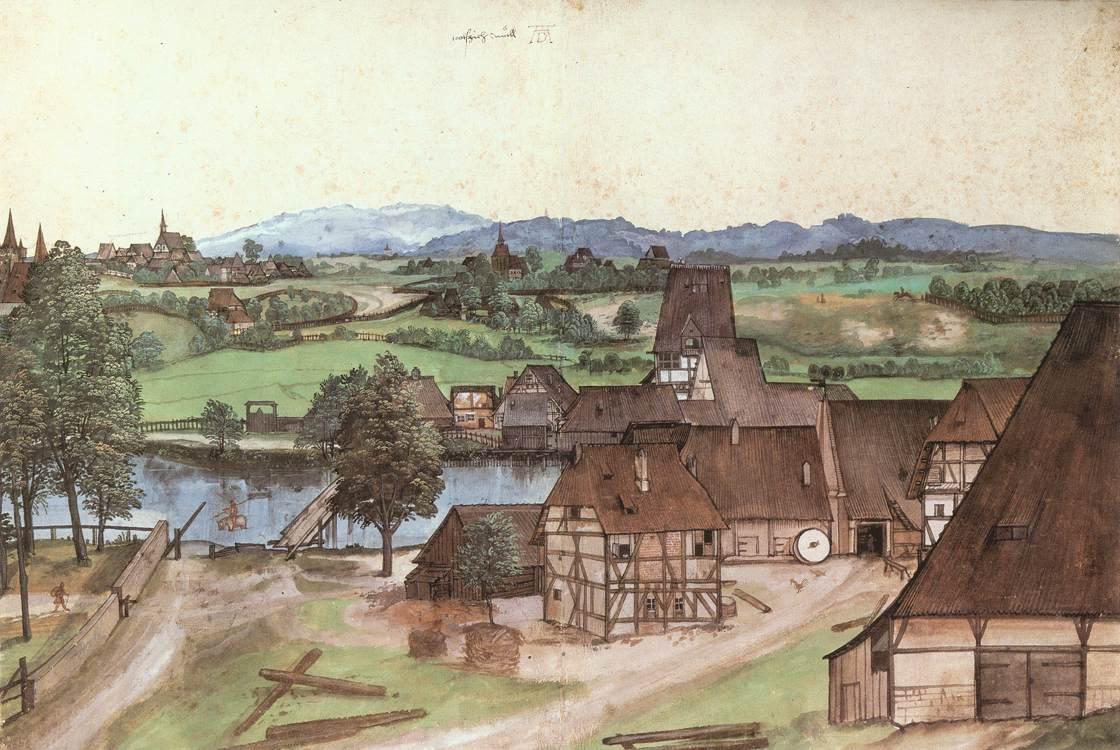 Die Drahtziehmühle (c. 1489)