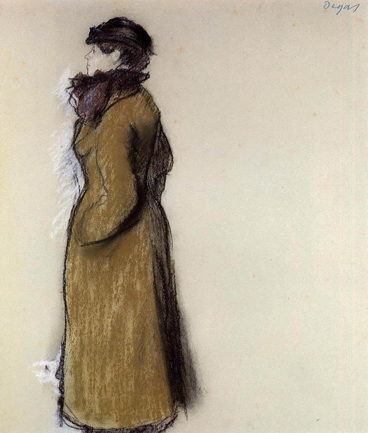 Ellen Andrée (Woman in Street Clothes)