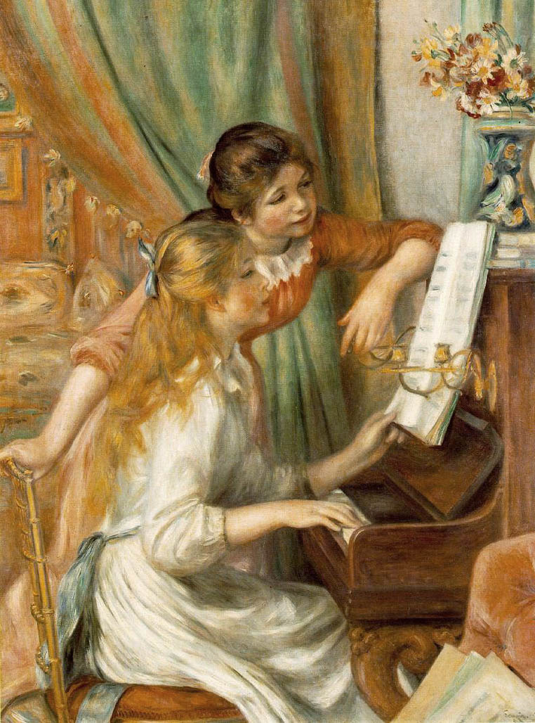 Jeunes filles au piano (1892-Orsay)
