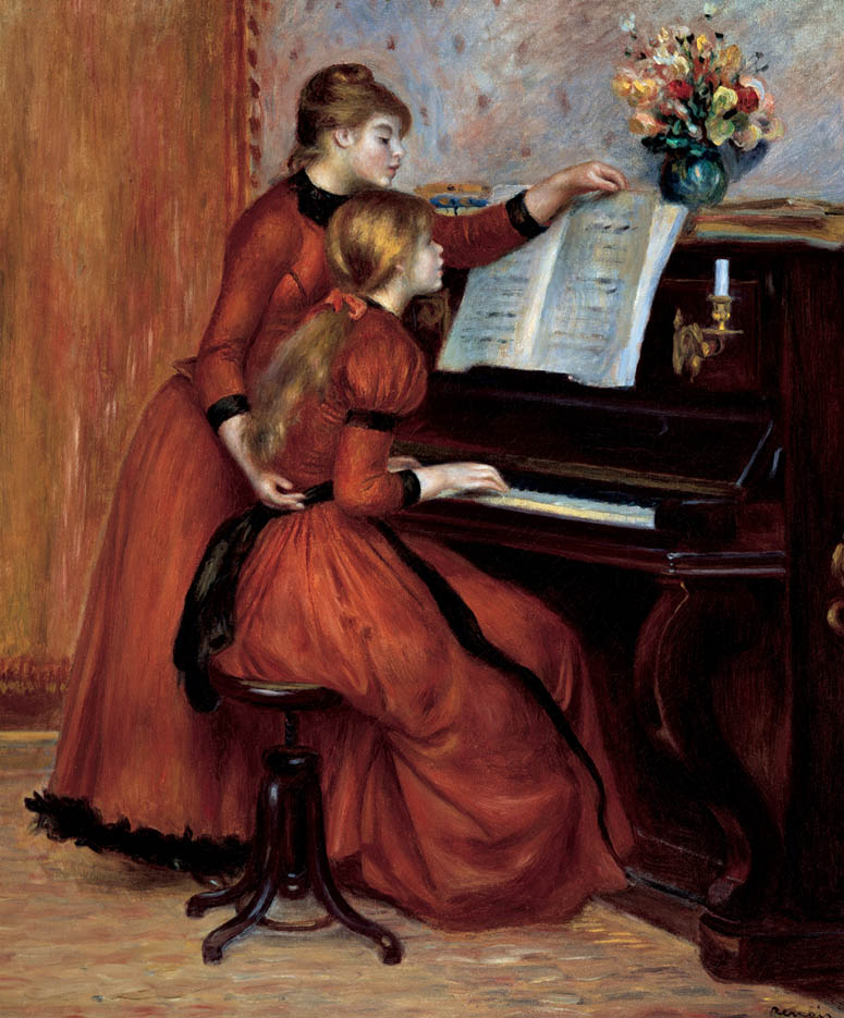Jeunes filles au piano (c. 1889)