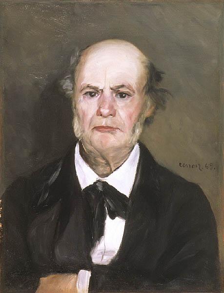 Léonard Renoir, le père de l'artiste (1869)
