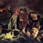 La Barque de Dante, d'après Delacroix (c. 1855)