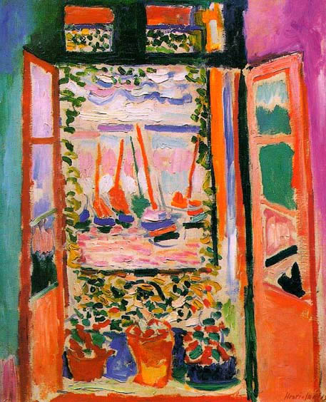 La Fenêtre ouverte, Collioure (1905)