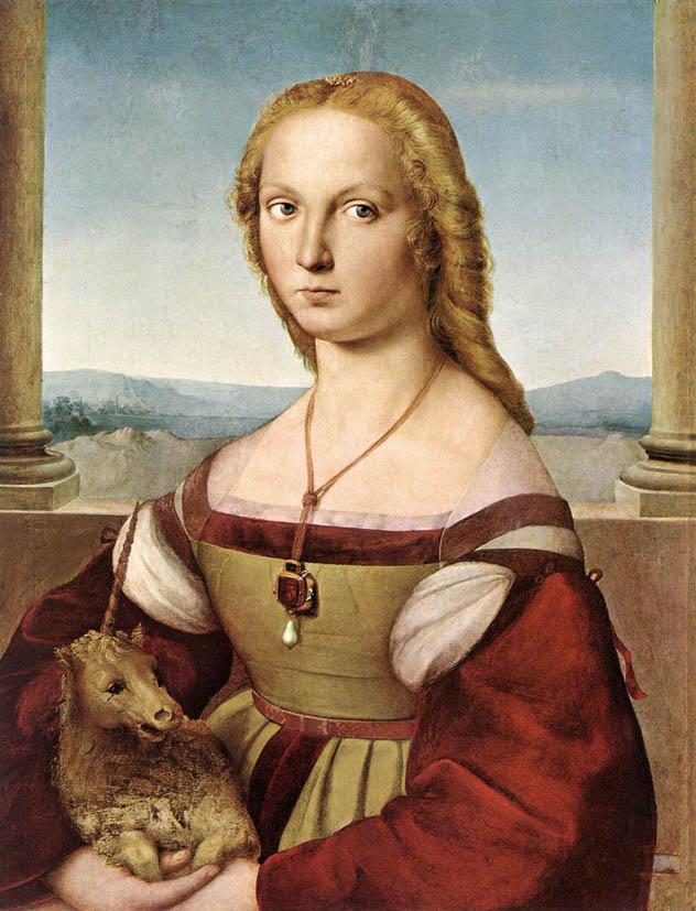 La dama col liocorno (1505-1507)