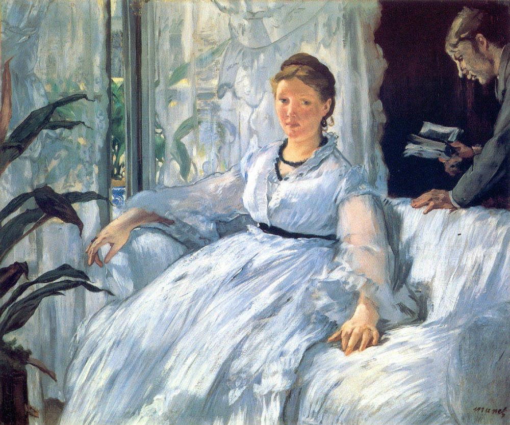La lecture (c 1868)