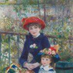 Les Deux Soeurs, Sur la terrasse (1881)