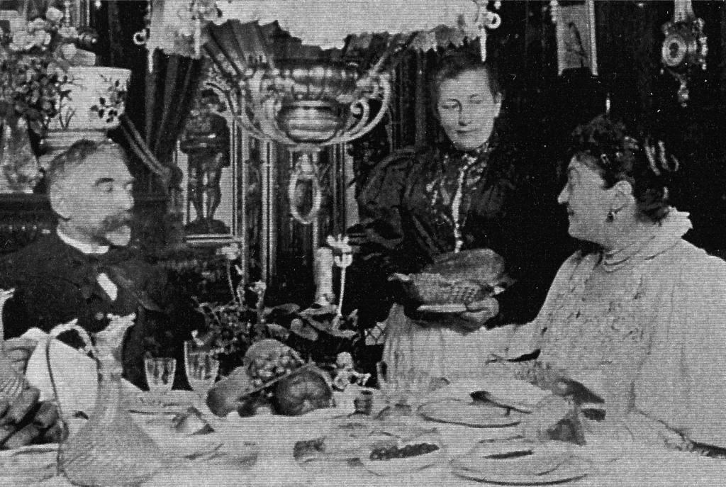 Méry Laurent and Stephane Mallarmé c. 1895