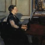 Madame Manet au piano (1868)