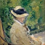 Madame Manet dans le Jardin de Bellevue (1880)