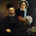 Monsieur et Madame Auguste Manet (1860)