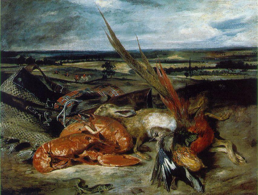 Nature morte aux homards (1826-1827)