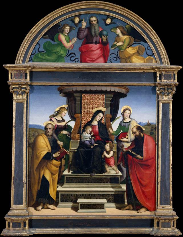 Pala Colonna (1504-1505)