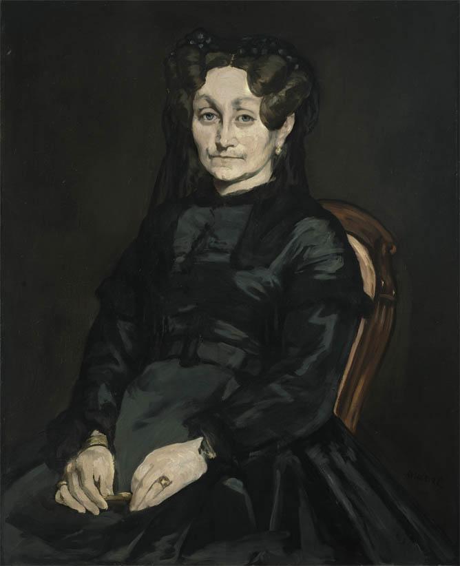 Portrait de Madame Auguste Manet (1863)