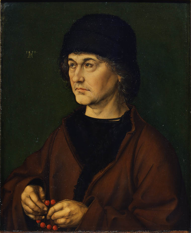 Portrait of Albrecht Dürer the Elder (1490)