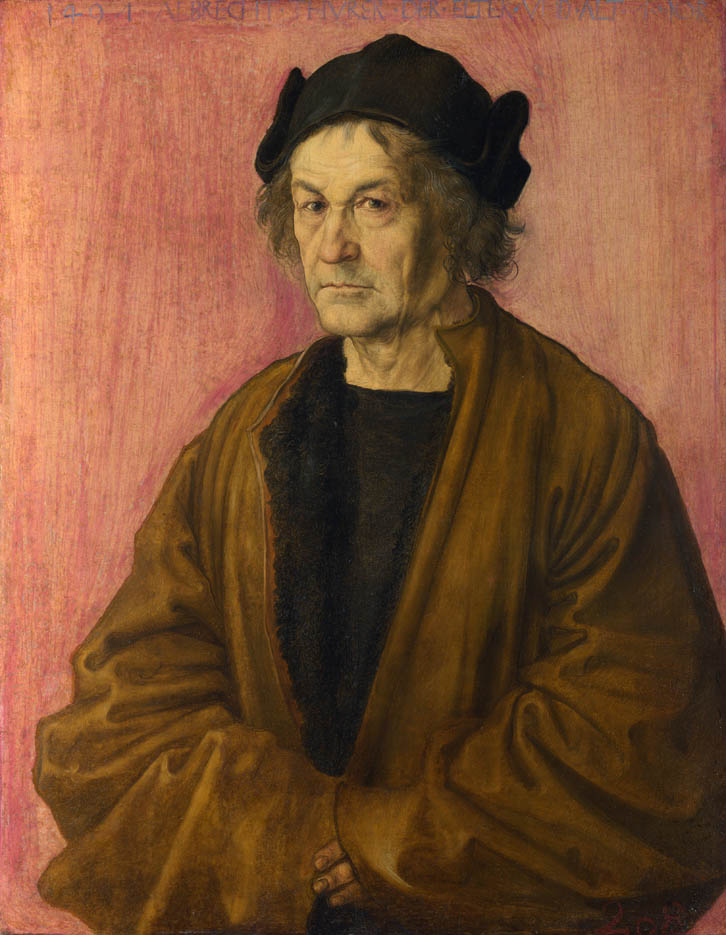 Portrait of Albrecht Dürer the Elder (1497)