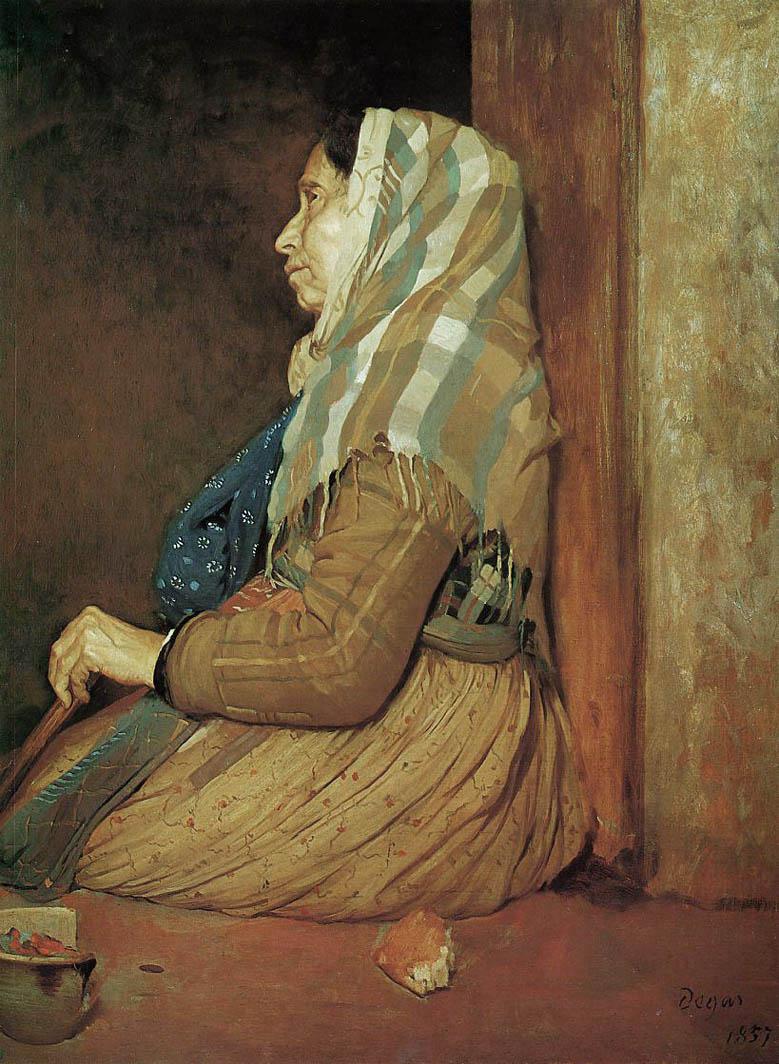 Une Mendiante romaine (1857)
