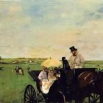 Aux courses en province (1869)