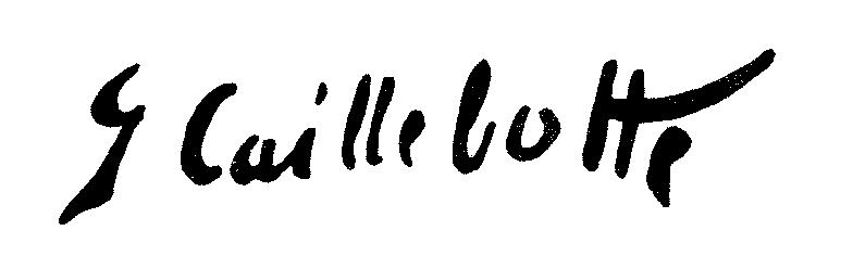 Caillebotte_signature