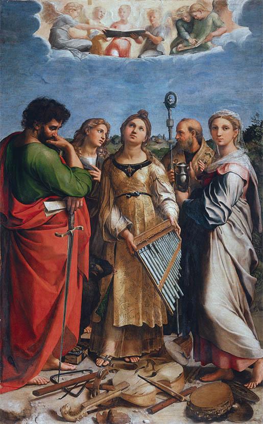 Estasi di Santa Cecilia (1513)