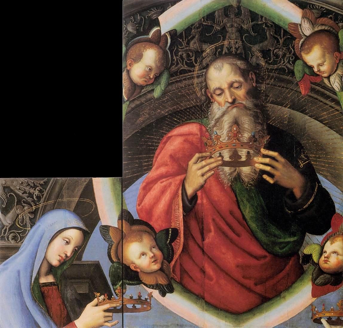 Eterno Padre e la Vergine (c. 1501)
