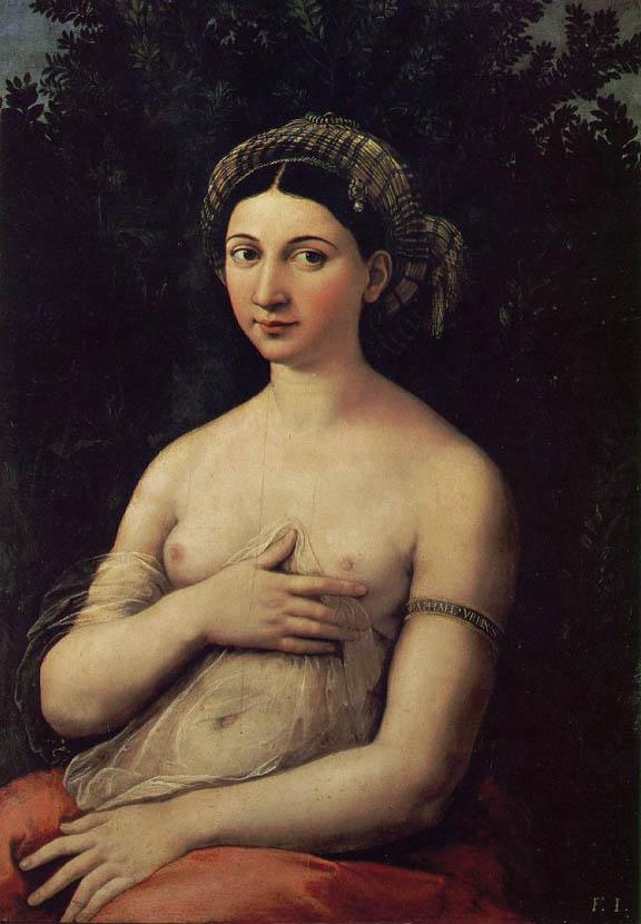 La Fornarina (c 1518-1520)