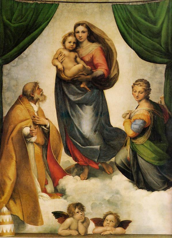 Madonna Sistina (1512-1513)