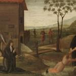 Nicola da Tolentino soccorre un fanciullo che annega (c. 1500)