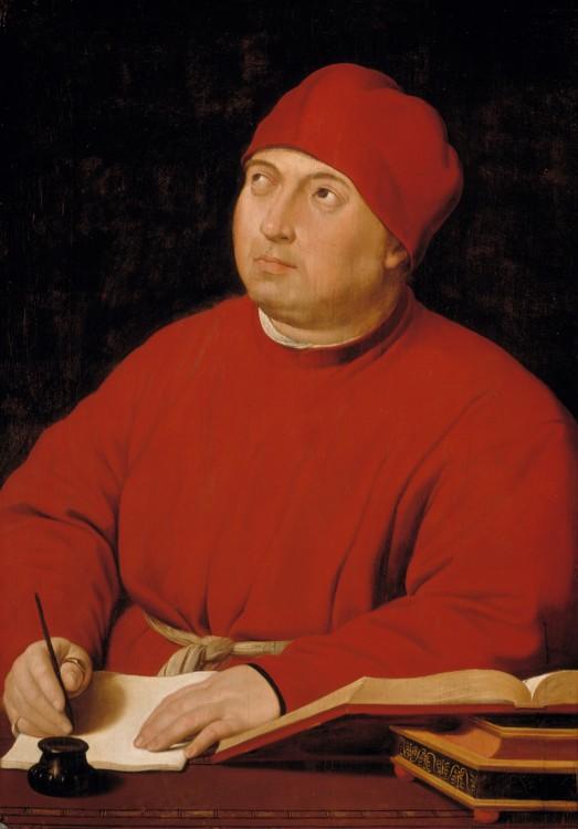 Ritratto di Tommaso Inghirami (c. 1516)