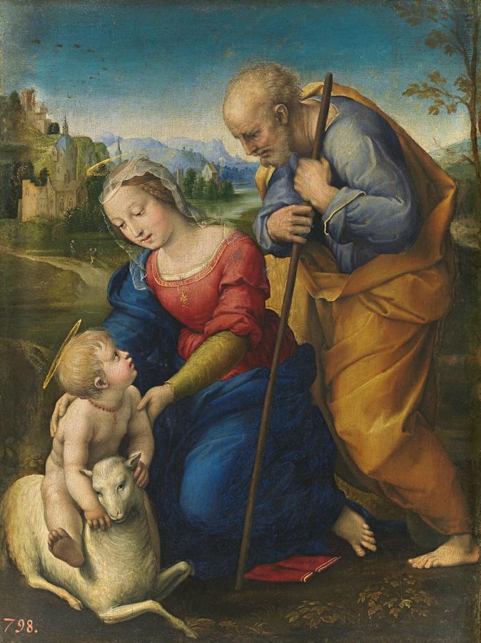 Sacra Famiglia con l'agnello (1507)