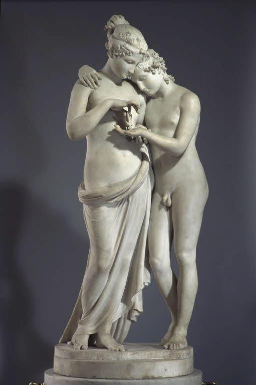 Amore e Psiche in piedi (1797-d-1)