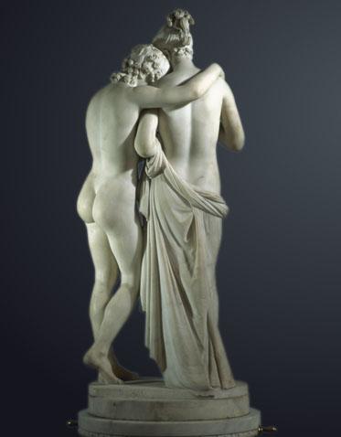 Amore e Psiche in piedi (1797-d-2)