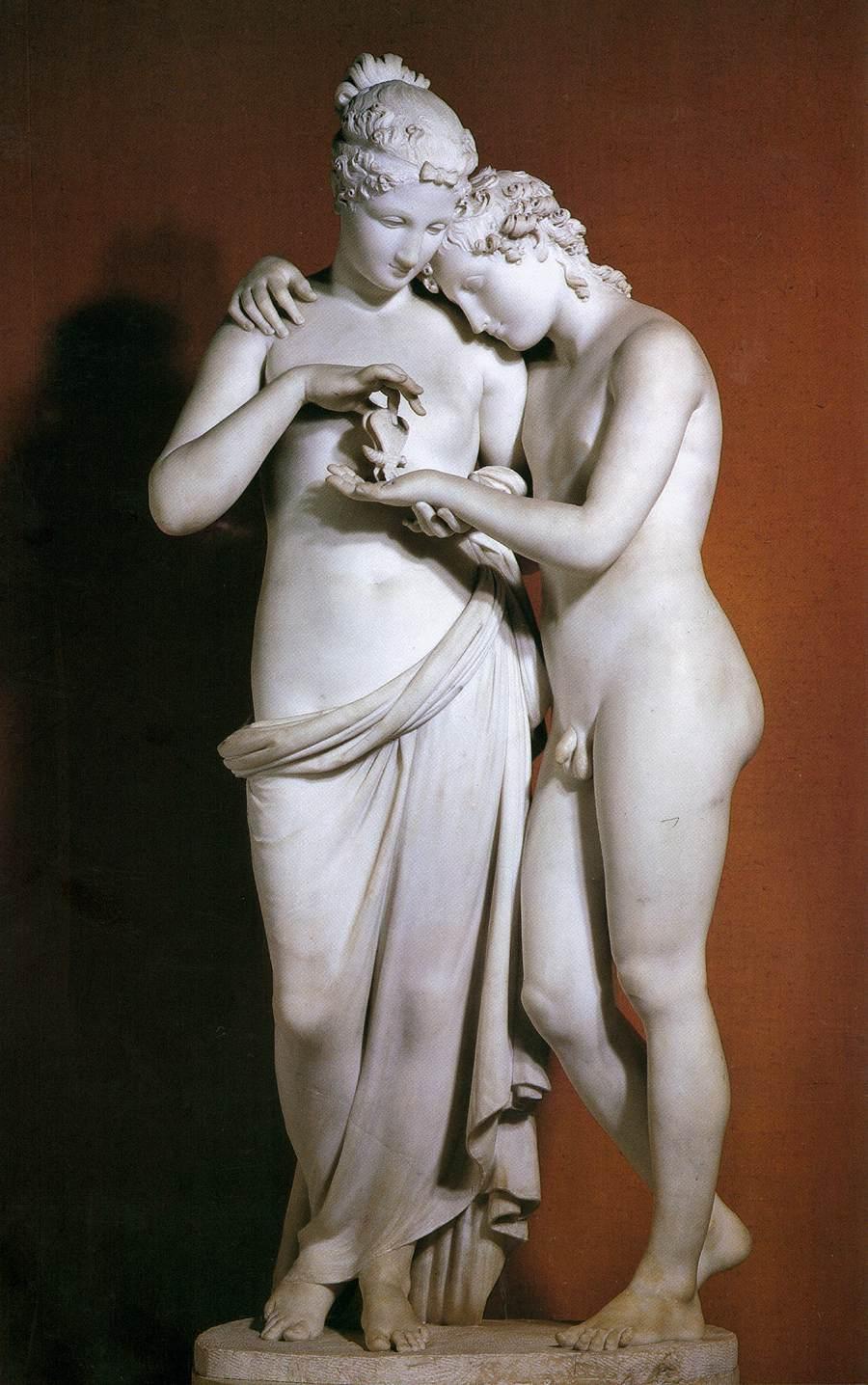 Amore e Psiche in piedi (1797)