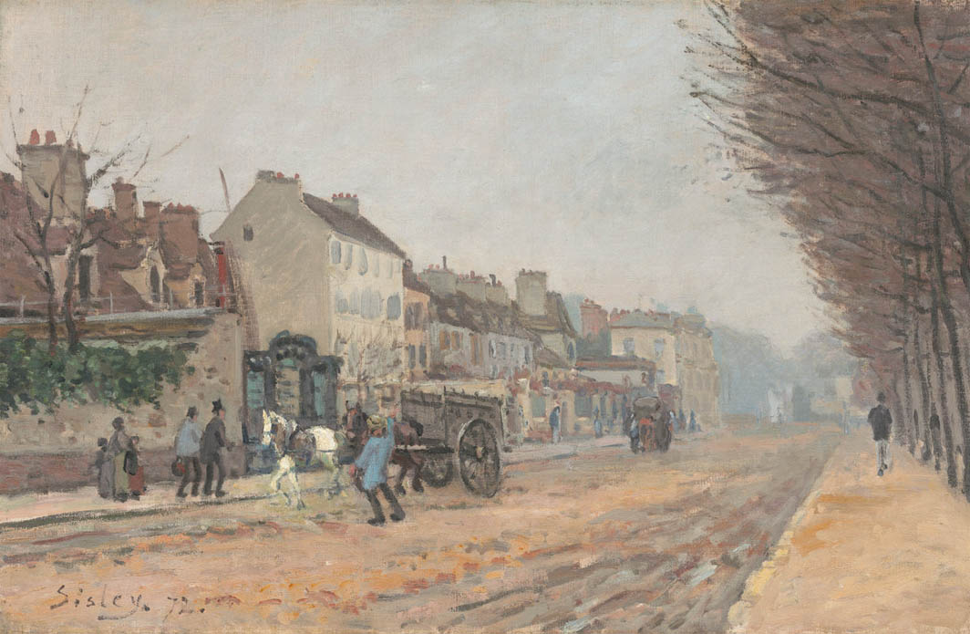 Boulevard Héloïse, Argenteuil (1872)