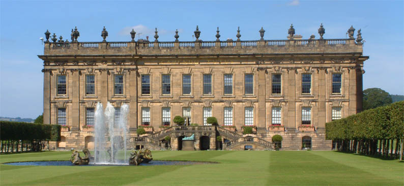 Chatsworth House (Derbyshire, England)