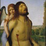 Cristo morto sostenuto da un angelo (1475-1476)