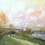 Eté à Bougival (1876)
