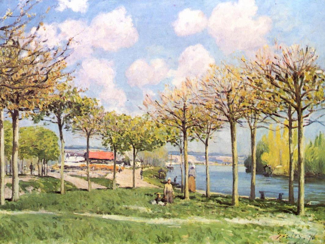 La Seine à Bougival (1876)