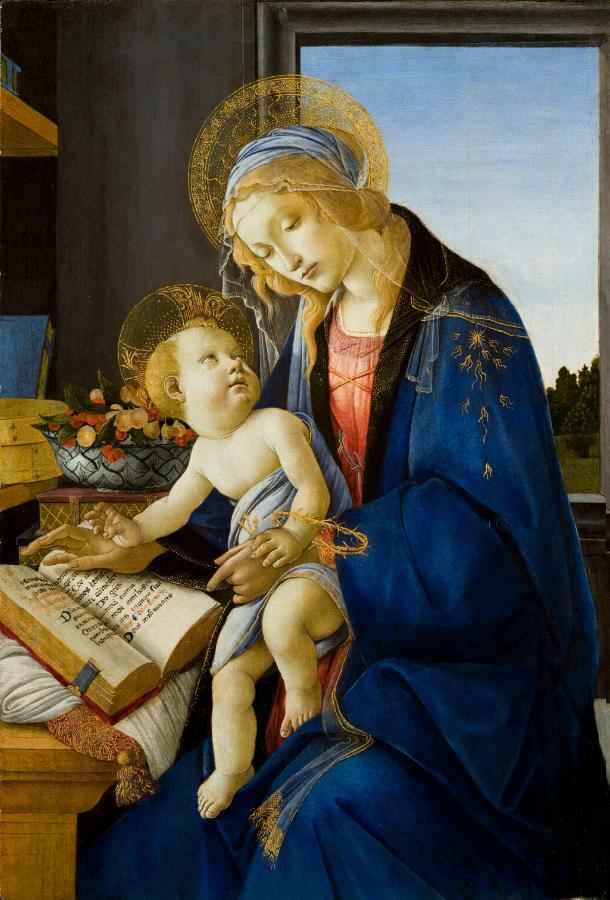 Madonna del Libro (1480-1481)