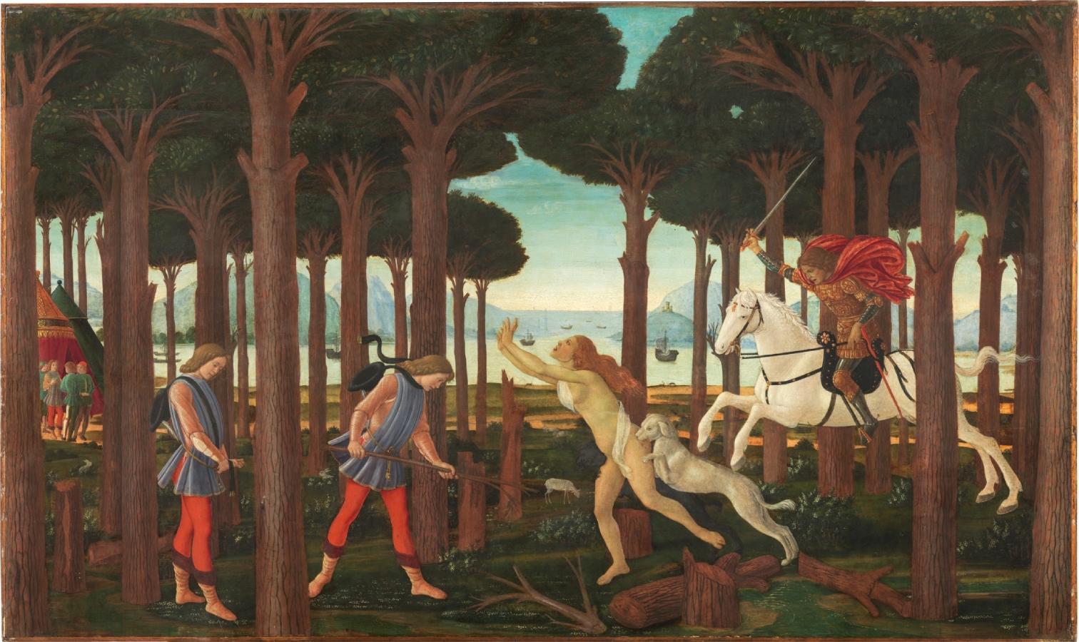 Nastagio degli Onesti I (1483)