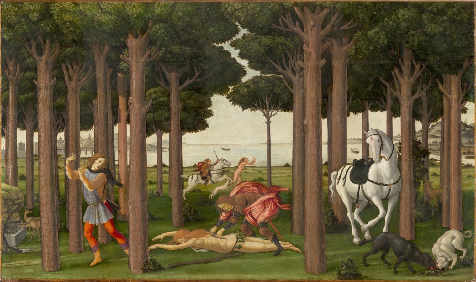 Nastagio degli Onesti II (1483)