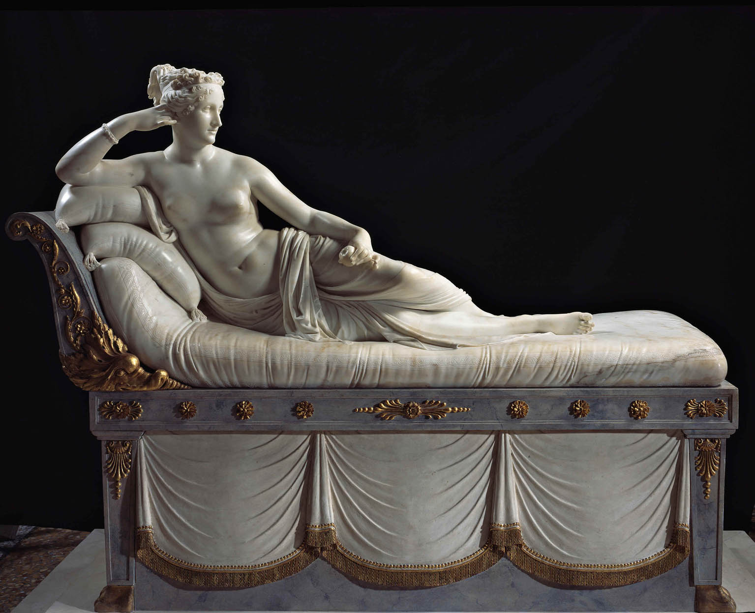 Paolina Borghese Bonaparte as Venus Victrix (1805-1808)